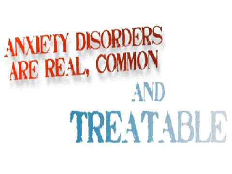 Anxiety disorders are real common and treatable